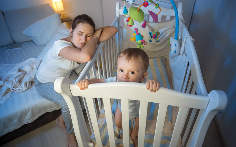 איך מרדימים תינוק בלילה