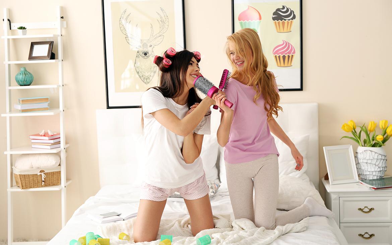 עיצוב חדרי שינה לנערות