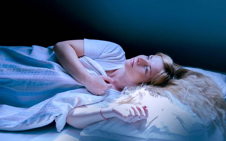 שינה בעיניים פקוחות